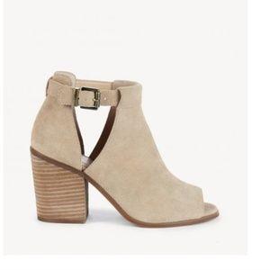 Sole Society 'Ferris' block heel sandal booties
